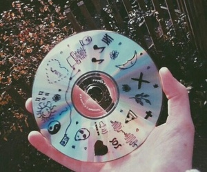 cd, music, and grunge image