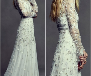 bridal, gown, and dress image