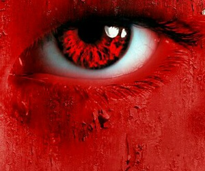 red, eyes, and photography image