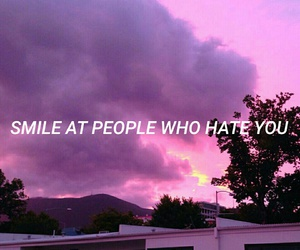 hate, quotes, and smile image