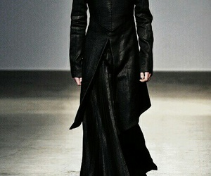 black, fashion, and wizard image
