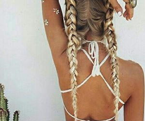 beauty, braids, and paradise image