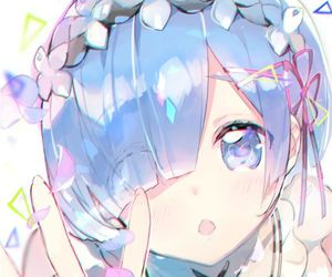 rem, anime, and re_zero image