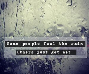 alone, rain, and rainy day image