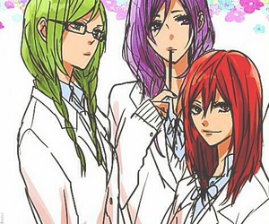 knb, murasakibara atsushi, and akashi seijuro image