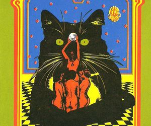 poster and psychedelic image