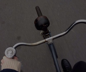 grunge, bike, and pale image