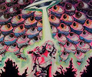 alien, art, and eyes image