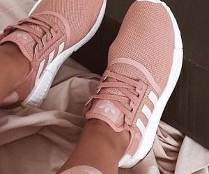 adidas, fashion, and girly image