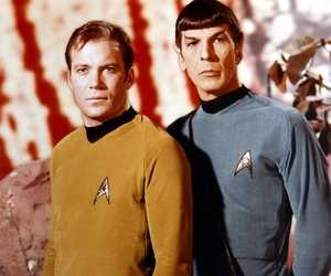 spock, article, and captain kirk image