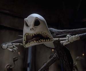 jack, tim burton, and jack skellington image