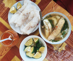 eating, travel, and Vietnam image