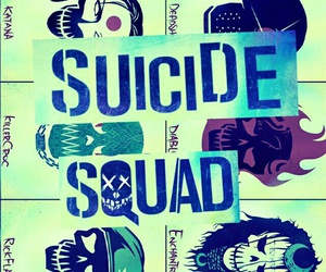 suicide squad, background, and joker image