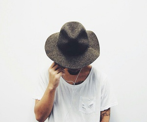 boy, hat, and style image