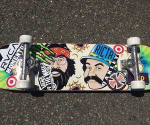 rad, skate, and skateboard image
