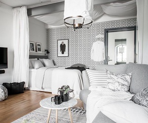 design, interior, and white image