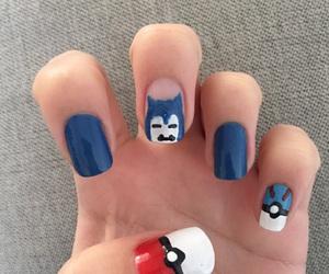 nail art, nails, and pokemon image