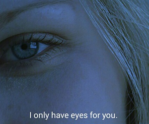 quotes, eyes, and love image