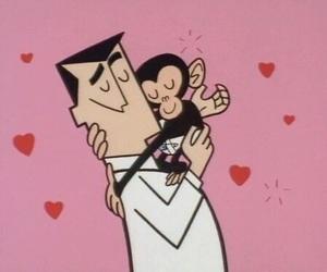 love, monkey, and cartoon image