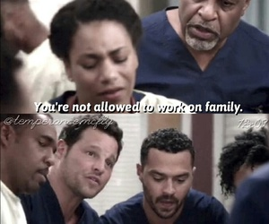 family, grey'sanatomy, and meredith image