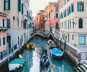 boat, italy, and travel image