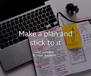 exams, plan, and work hard image