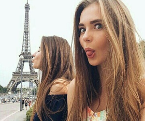 paris, friendship, and travel image