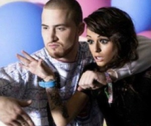 mike posner, cher lloyd, and with ur love image