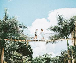 adventure, couple, and couples image