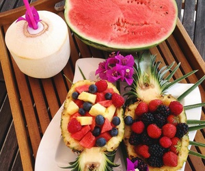 food, fruit, and drink image