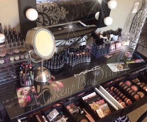 makeup, vanity, and make up image