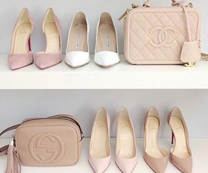 shoes, chanel, and bag image