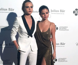 selena gomez, cara delevingne, and friends image