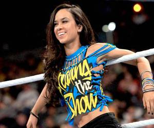 divas, aj lee, and wwe image