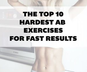 abs, fit, and exercises image