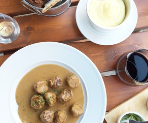 meatballs, stockholm, and sweden image