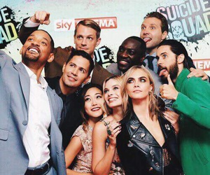 suicide squad, margot robbie, and jared leto image