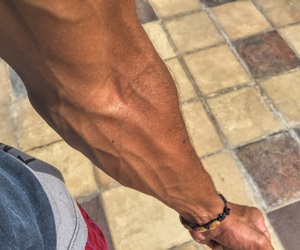 bae, fitness, and hand image