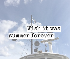 summer, forever, and boat image