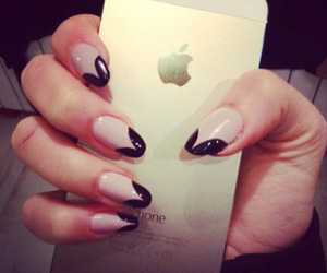 nails, iphone, and style image