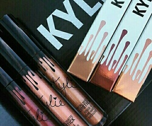 makeup, lipstick, and kylie jenner image