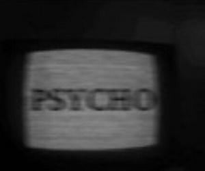 Psycho, grunge, and tv image
