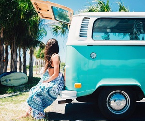 girl, beach, and tropical image