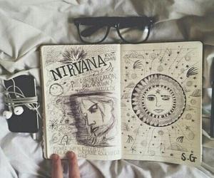 drawing and nirvana image
