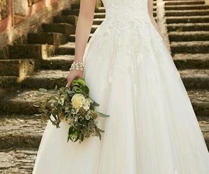 wedding, dress, and weddingdress image