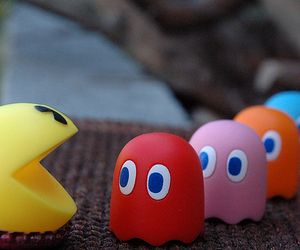 pacman, game, and Pac Man image