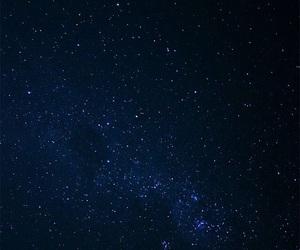 night, stars, and tumblr image
