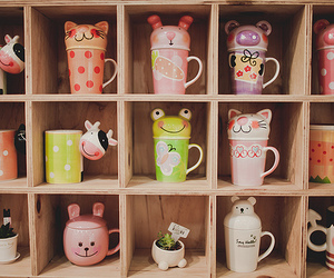 animal, cup, and cute image