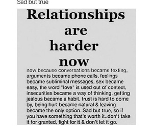 Relationship, love, and hard image
