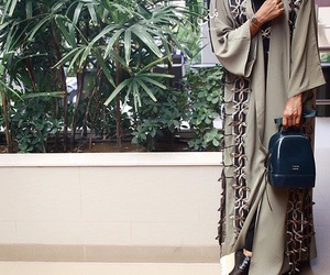 backpack, classy, and hijab image